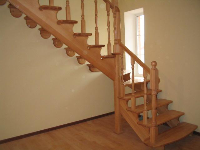 Сборка деревянных лестниц своими руками фото