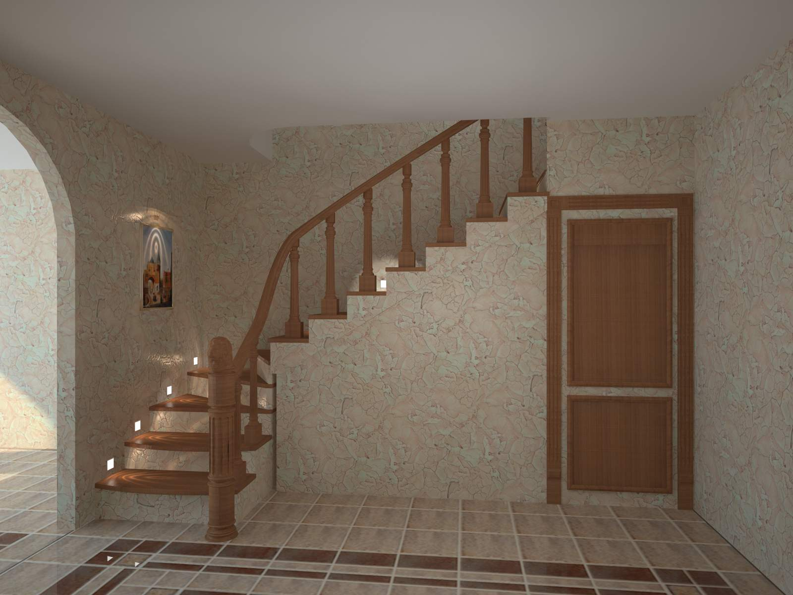 Лестница в частном доме на второй этаж своими руками видео