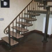 Лестницы металлические каркасы